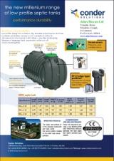 Conder-Millenium-Low-Profile-Septic-Tanks