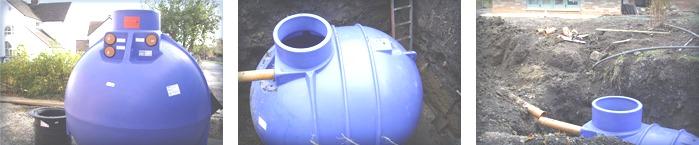 Rainwater-Tank-Installation